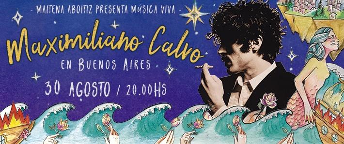 Música Viva presenta a Maximiliano Calvo