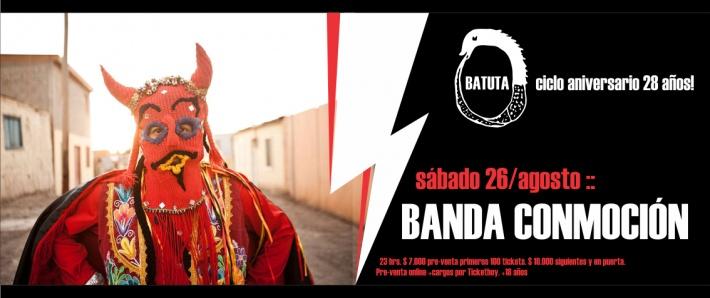 BANDA CONMOCIÓN - 26 agosto Batuta