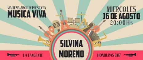 Música Viva presenta a Silvina Moreno