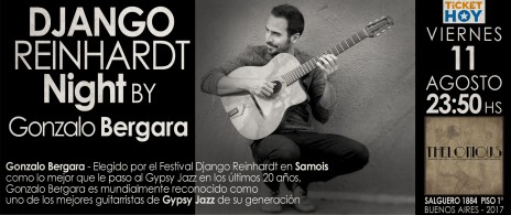 Django Reinhardt Night BY Gonzalo Bergara