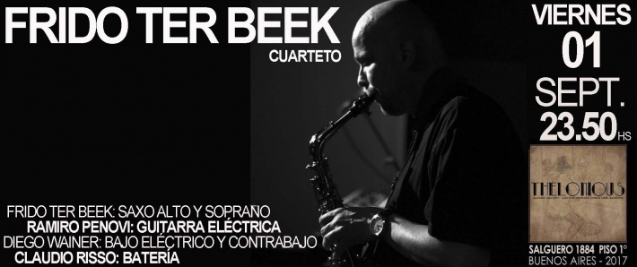 FRIDO TER BEEK Cuarteto