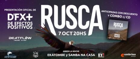 RUSCA presentación Oficial D`F X + Abre EKATOMBE