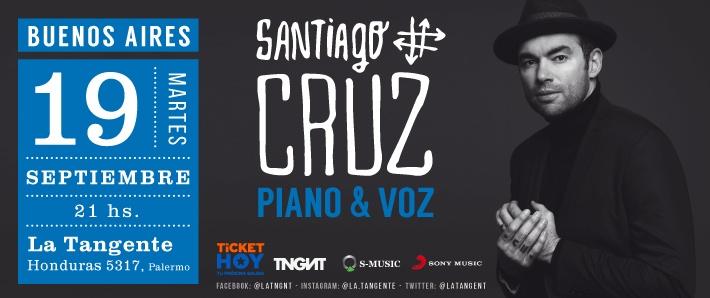 Santiago Cruz Piano & Voz