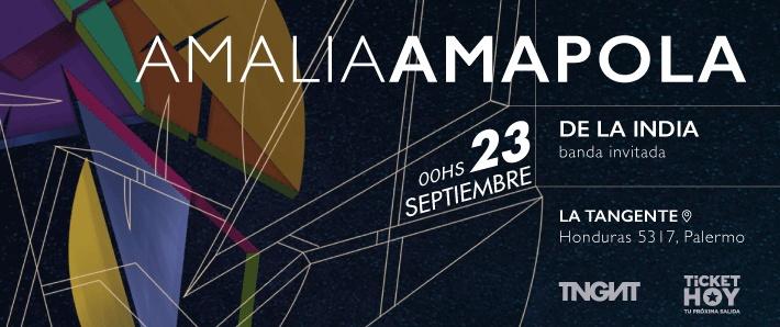 Amalia Amapola + De la India