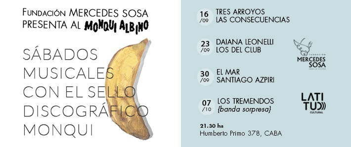 Ciclo Monqui Albino - El Mar / Santiago Azpiri