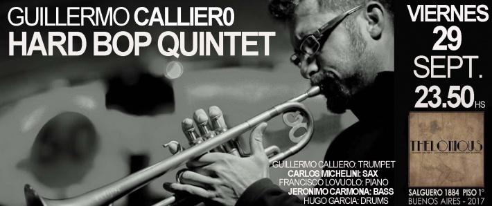 Guillermo Calliero Hard Bop Quintet