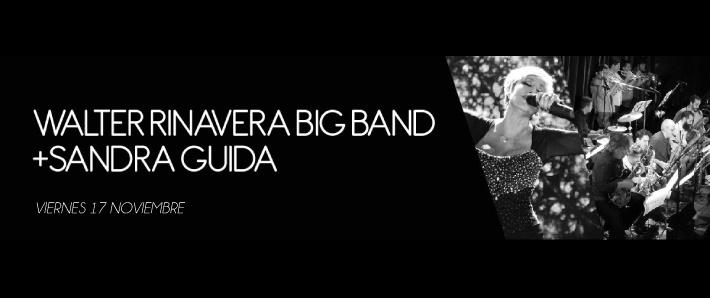 WALTER RINAVERA BIG BAND+SANDRA GUIDA