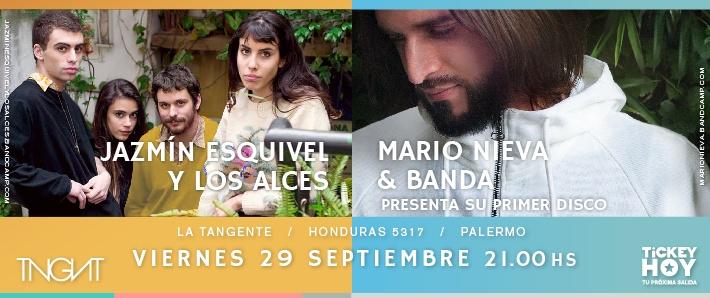 Mario Nieva + Jazmín Esquivel y los Alces