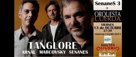 SenaneS 3 + Orquesta Cuerda en Oliverio