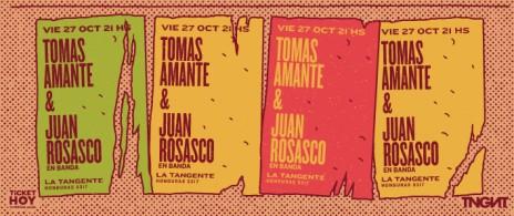 Tomás Amante & Juan Rosasco En Banda