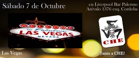 Las Vegas en liverpoolBar. Sábado 7 de Octubre 21hs!