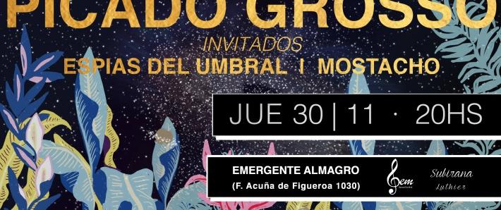 Picado Grosso cierra el año en Emergente Almagro