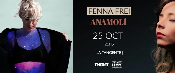 Fenna Frei + Anamolí