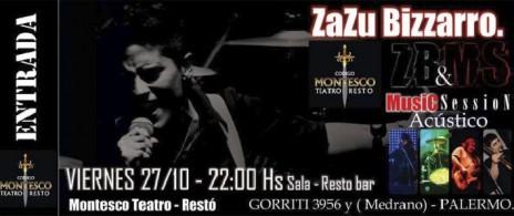 Zazu Bizzarro & Music Session Acústico