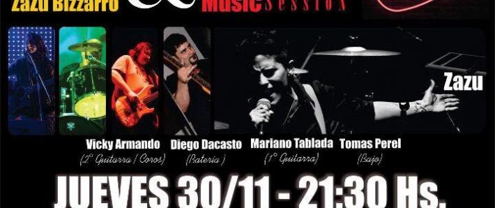 Zazu Bizzarro & Music Session conectados