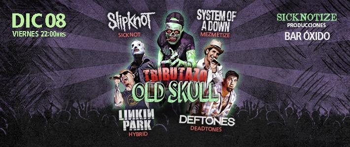 Tributazo Old Skull