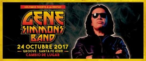 GENE SIMMONS BAND en vivo ¡La leyenda de Kiss llega a la Argentina!