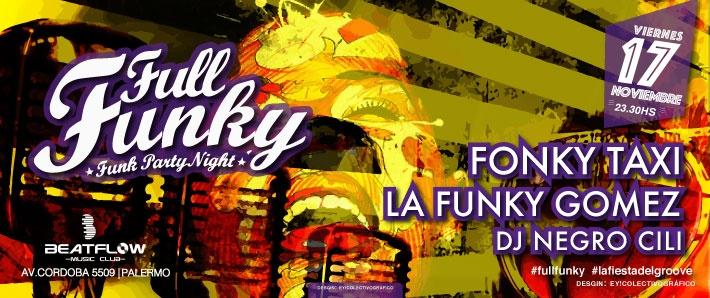 Full Funky |Fonky taxi|La funky gomez| Negro Cili