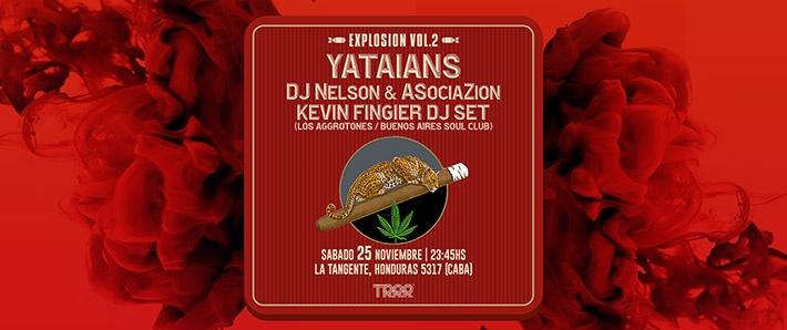 Yataians + DJ Nelson & ASociaZion