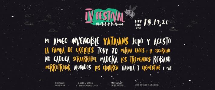 Cuarto Festival del Club de la Música
