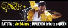 INNUENDO tributo a QUEEN - 24 nov Batuta