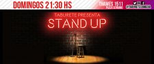 Taburete Presenta... ¡Stand Up! - Stand Up en Plaza Serrano