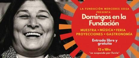 ¡Domingos en la Fundación Mercedes Sosa!