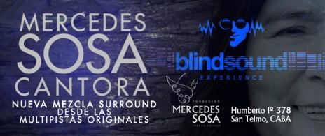 Mercedes Sosa: Cantora en surround sound