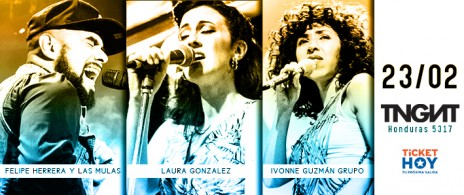 Ivonne Guzmán, Laura González & Felipe Herrera