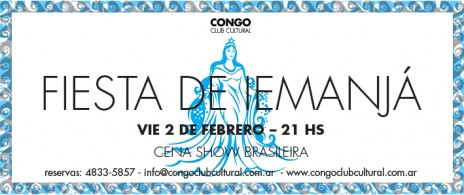 Fiesta de Iemanjá en Congo