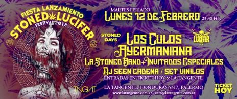 Lanzamiento Stoned Lucifer Festival 2018
