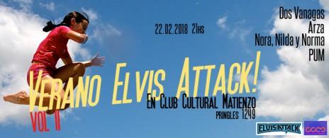 Elvis Attack en Matienzo 22/02