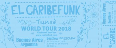 Caribefunk | Tunsé World Tour 2018