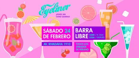 FIESTA EYELINER - SAB 24/FEB