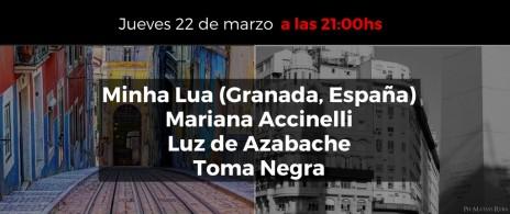 """Fado y Tango... """"De Lisboa a Buenos Aires"""" : Minha Lua (Granada, España), Mariana Accinelli, Luz de"""