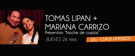 TOMAS LIPAN + MARIANA CARRIZO