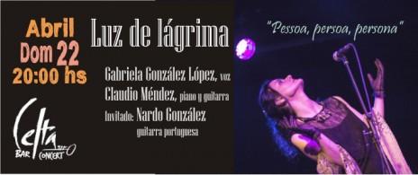 """Luz de Lágrima - """"Pessoa,persoa,persona"""""""