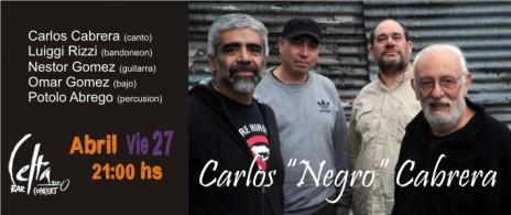 """Carlos """"Negro"""" Cabreara - """"Ayer y hoy: El Tango"""""""
