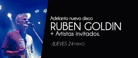 Rubén Goldín adelanto nuevo disco