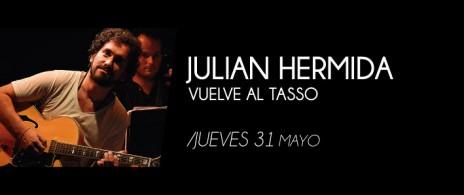 JULIAN HERMIDA VUELVE AL TASSO