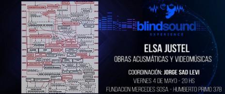 ELSA JUSTEL en BLIND SOUND EXPERIENCE
