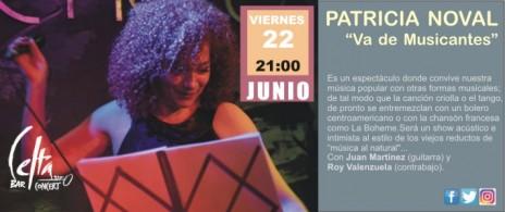 "PATRICIA NOVAL  ""Va de musicantes"""