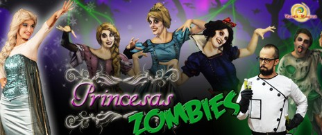 """""""Princesas Zombies"""" 2x1"""