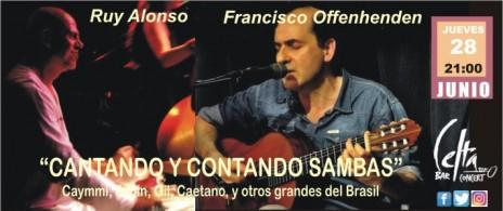 CANTANDO Y CONTANDO SAMBAS