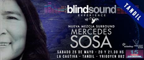 """Mercedes Sosa """"Cantora"""" en LA CAUTIVA - TANDIL"""