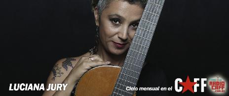 Luciana Jury en el CAFF - invitado Gabo Ferro