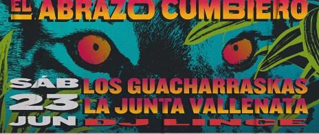 El abrazo cumbiero: Los guacharrascas - Orquesta fugitiva