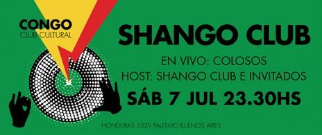 Ciclo Shango Club // Colosos