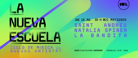 La nueva escuela:SAINT-ANDREU+La Bandita+Natalia Spiner