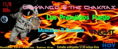 Chimango & The Chakras + Los Prendidos Fuego